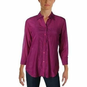 American Apparel Tops - NWT AA silk button up